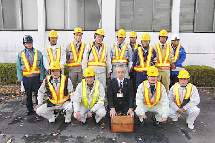 美濃加茂市指定避難所の建物診断 美濃加茂市建設災害復旧協力会