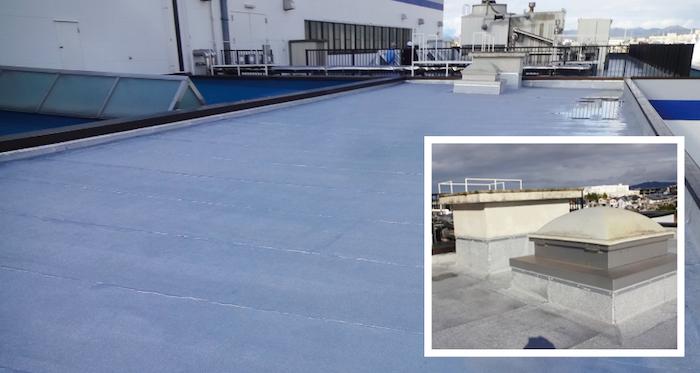 屋上防水改修工事